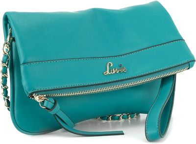 Lavie Women Casual Blue Sling Bag | Turquoise