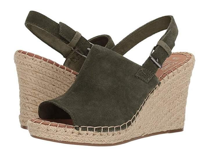 1ddd8f1de991e Toms Monica in 2019 | Products | Womens shoes wedges, Wedge shoes, Shoes