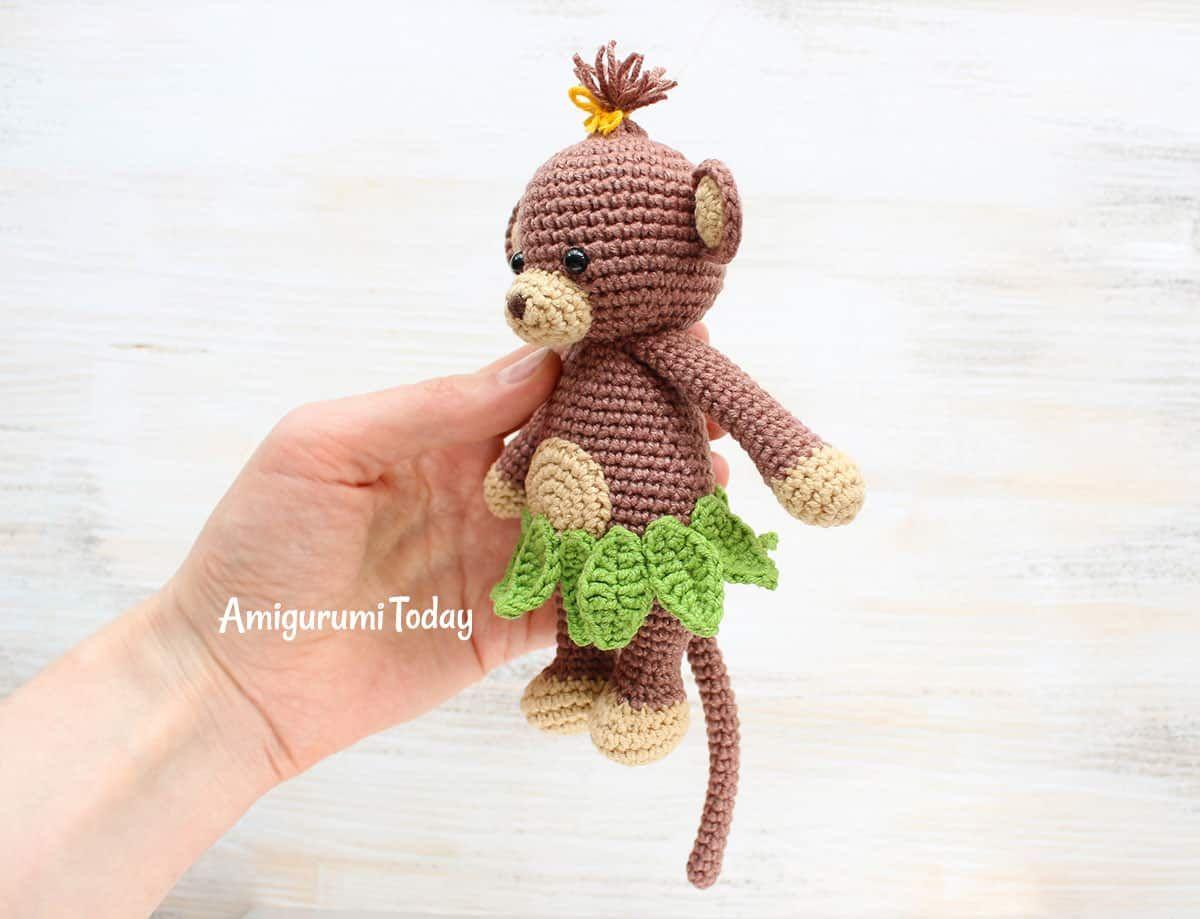 Amigurumi Nyuszik : Cuddle me monkey amigurumi pattern