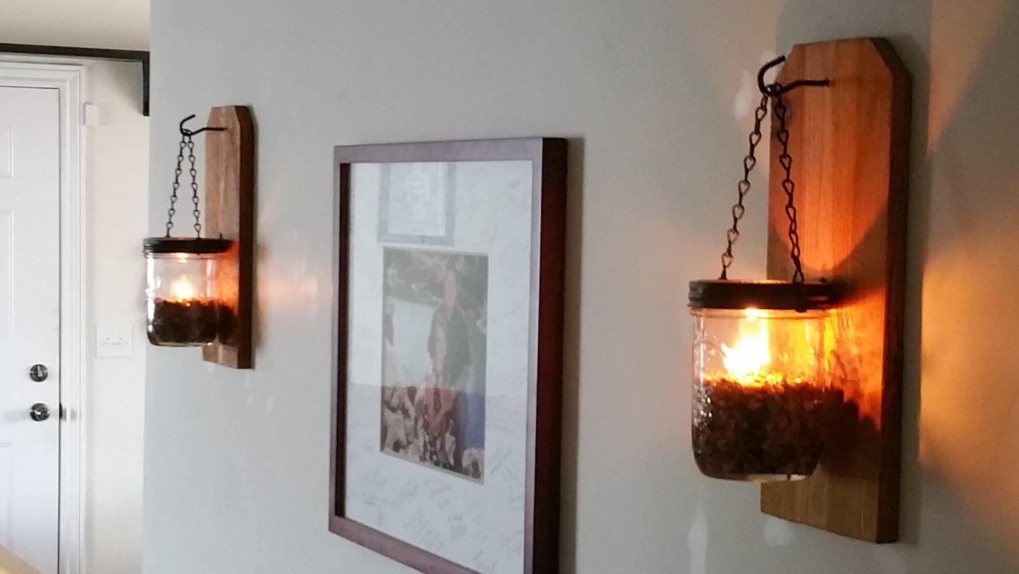 Off Grid Lighting! DIY Wall Oil Lamp And Practically Pretty