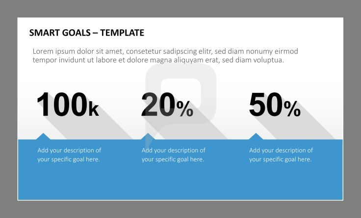 Smart goals powerpoint templates here you can add your description smart goals powerpoint templates here you can add your description of your specific goal toneelgroepblik Images