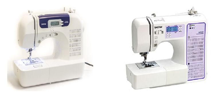 Brother CS40i Vs SC40 Comparison In Detail Sewing Pinterest Adorable Brother Sewing Machine Comparison