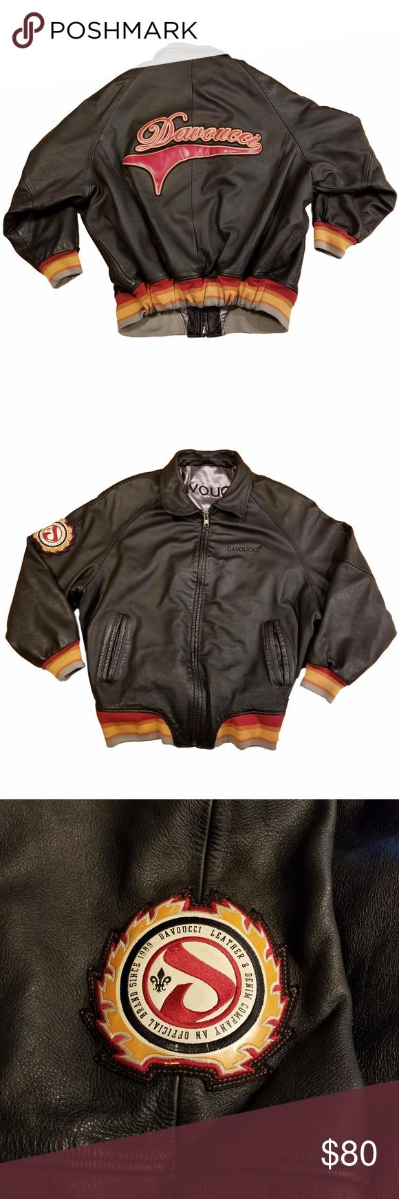 Men S Davoucci Leather Bomber Jacket Size 6xl Men S Davoucci Leather Bomber Jacket Varsity Style Script Big Leather Bomber Jacket Leather Bomber Clothes Design [ 1740 x 580 Pixel ]