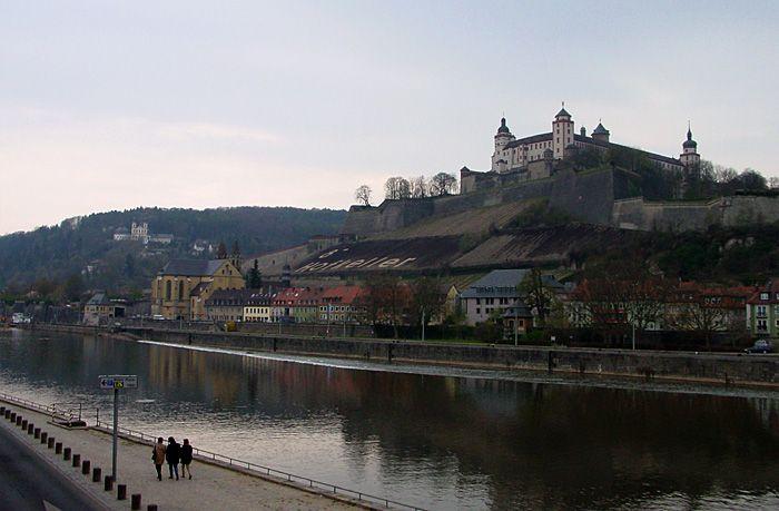Wuerzburg Castle - Wuerzburg, Bayern