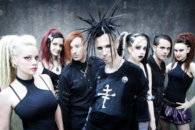 Industrial Band The Cruxshadows Great Industrial Music And An