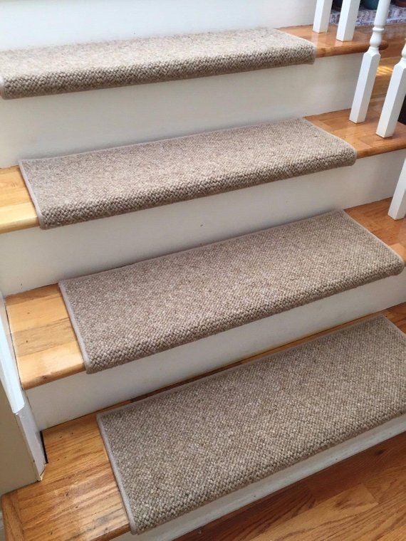 Best Alfa Dusk 100 Wool True Bullnose™ Carpet Stair Tread 400 x 300