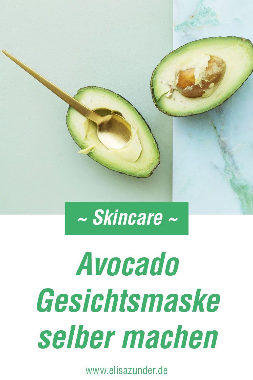 Photo of Avocado Gesichtsmaske selber machen + Anleitung und Einwirkz…
