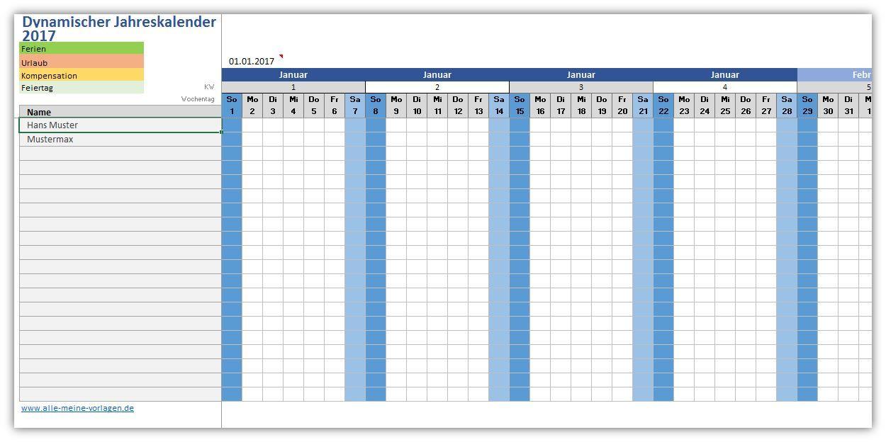 Dynamischer Ewiger Kalender Alle Meine Vorlagen De Ewiger Kalender Vorlagen Kalender Vorlagen