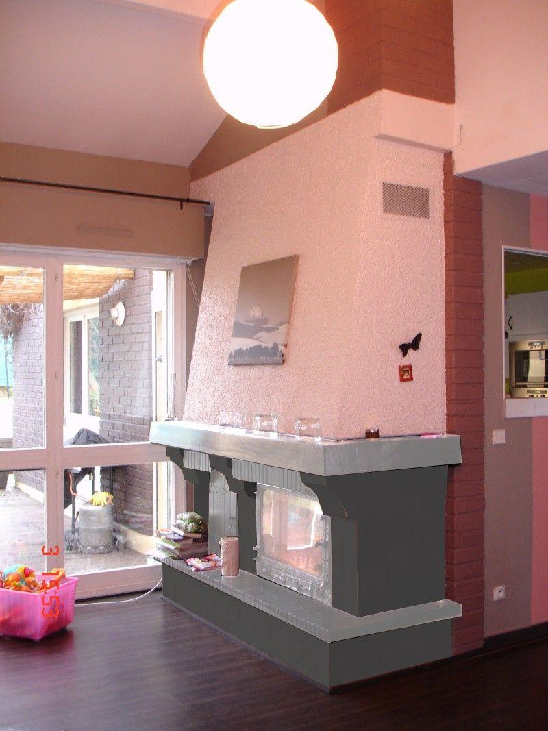 relooker une chemin e en 2019 chemin e pinterest. Black Bedroom Furniture Sets. Home Design Ideas