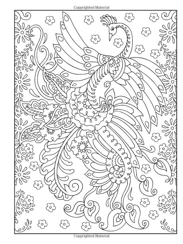 creative haven mehndi designs colouring book - Mehndi Patterns Colouring Sheets