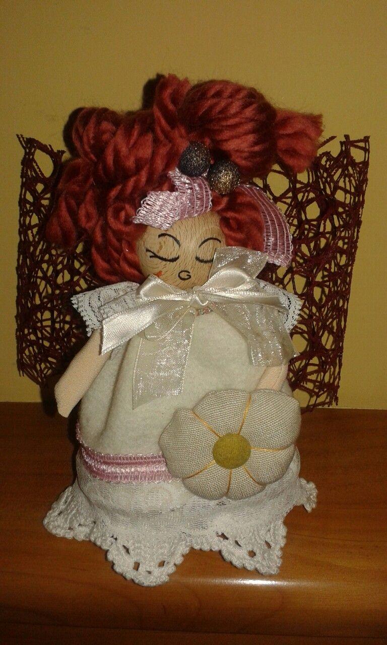 #bambolina #handmade #angel #feltro