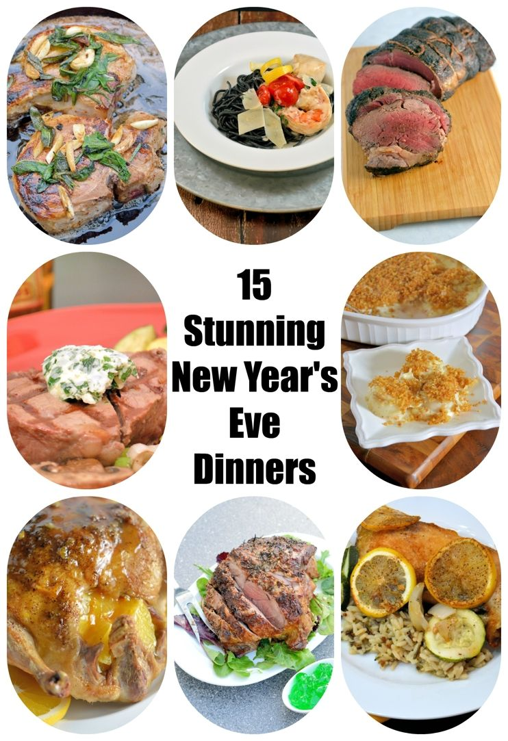 15 Stunning New Year's Eve Dinners at Home | Diner recipes ...