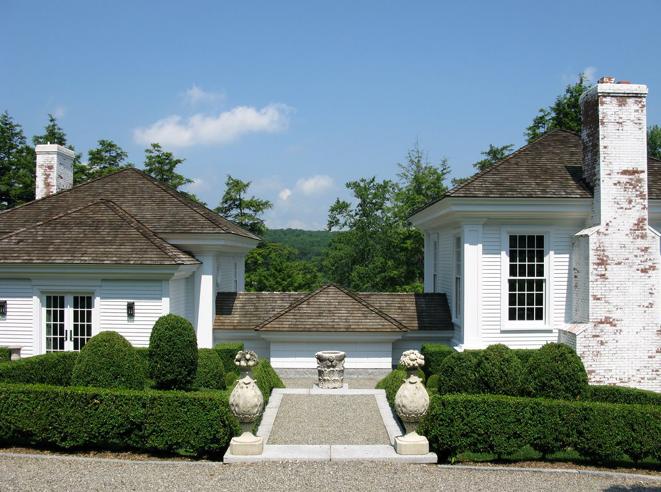 Robert Couturier His Connecticut Home Architecture Exterior House Exterior Exterior