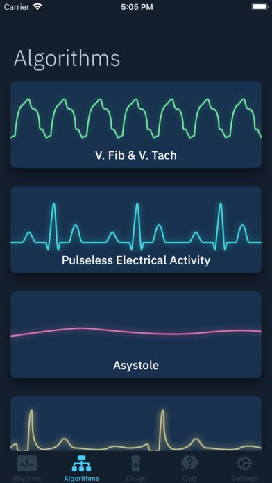 ACLS Rhythms and Quiz Acls medications, Nursing school