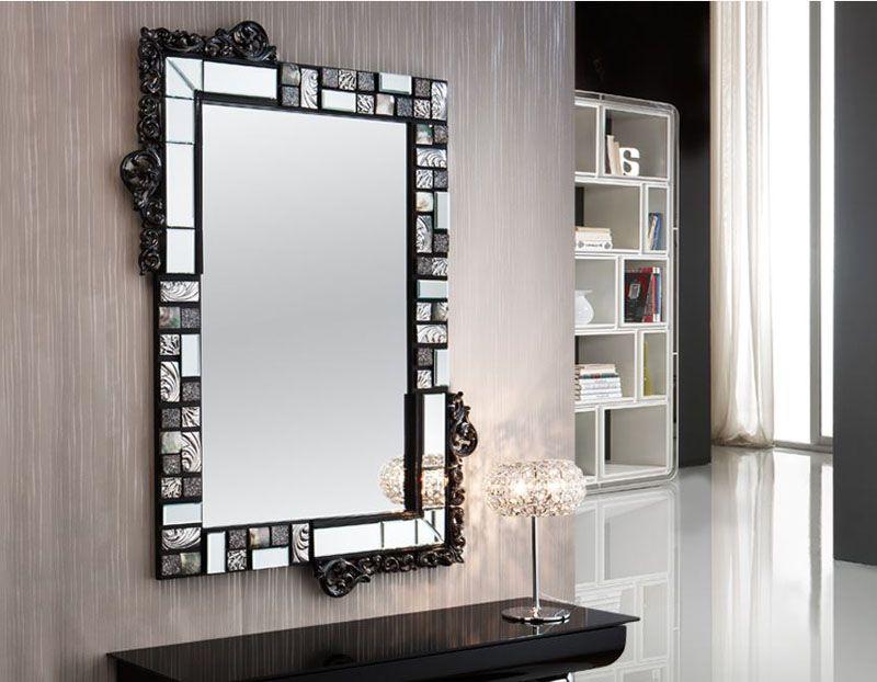 Espejo moderno espejos de cristal espejos baratos espejos for Espejos decorativos modernos