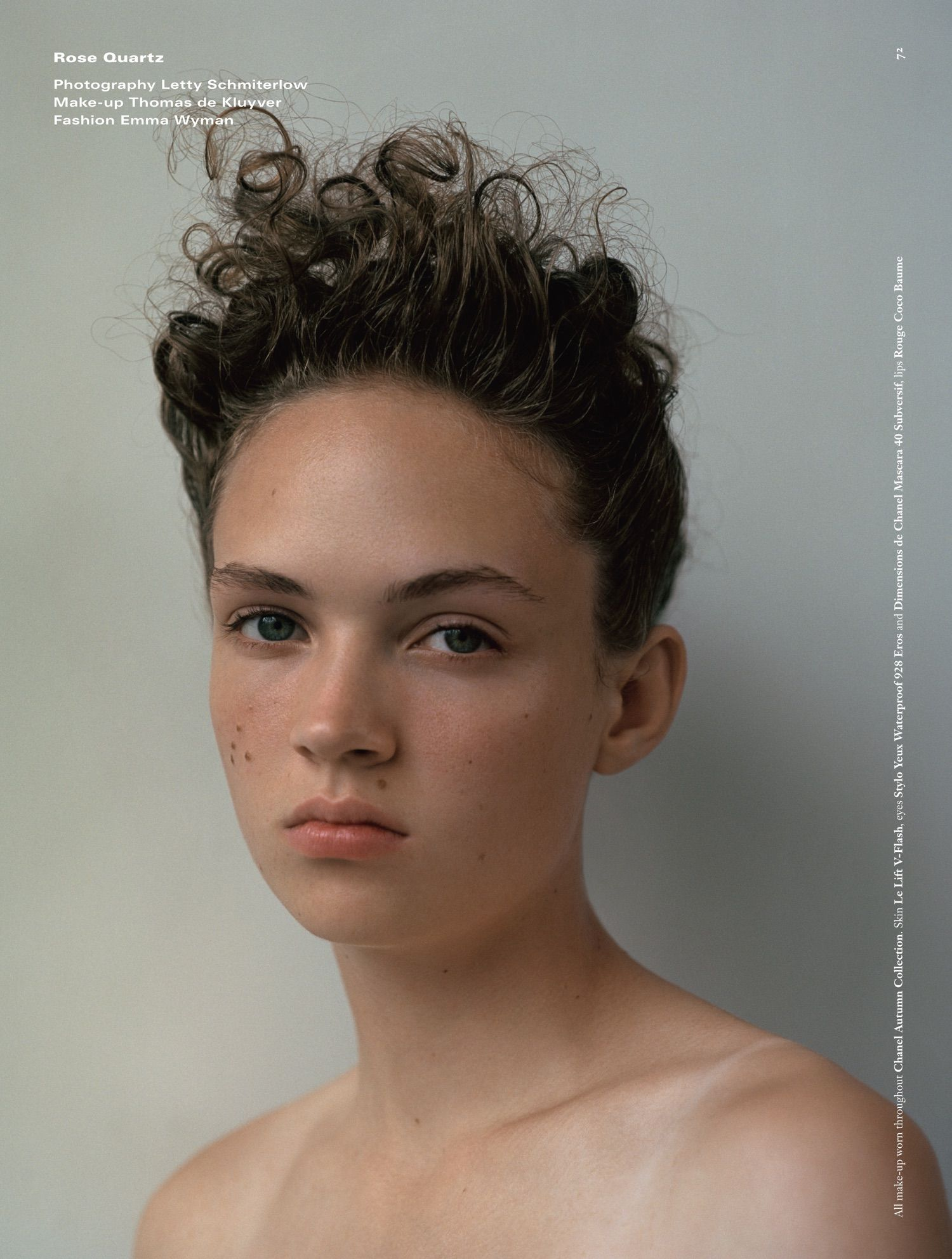 cbcc885e302946 Adrienne Juliger by Letty Schmiterlow for Dazed Magazine Fall 2016 ...