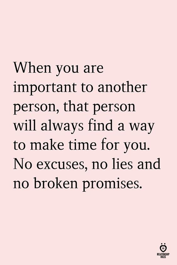 When You Are Important To Another Person,