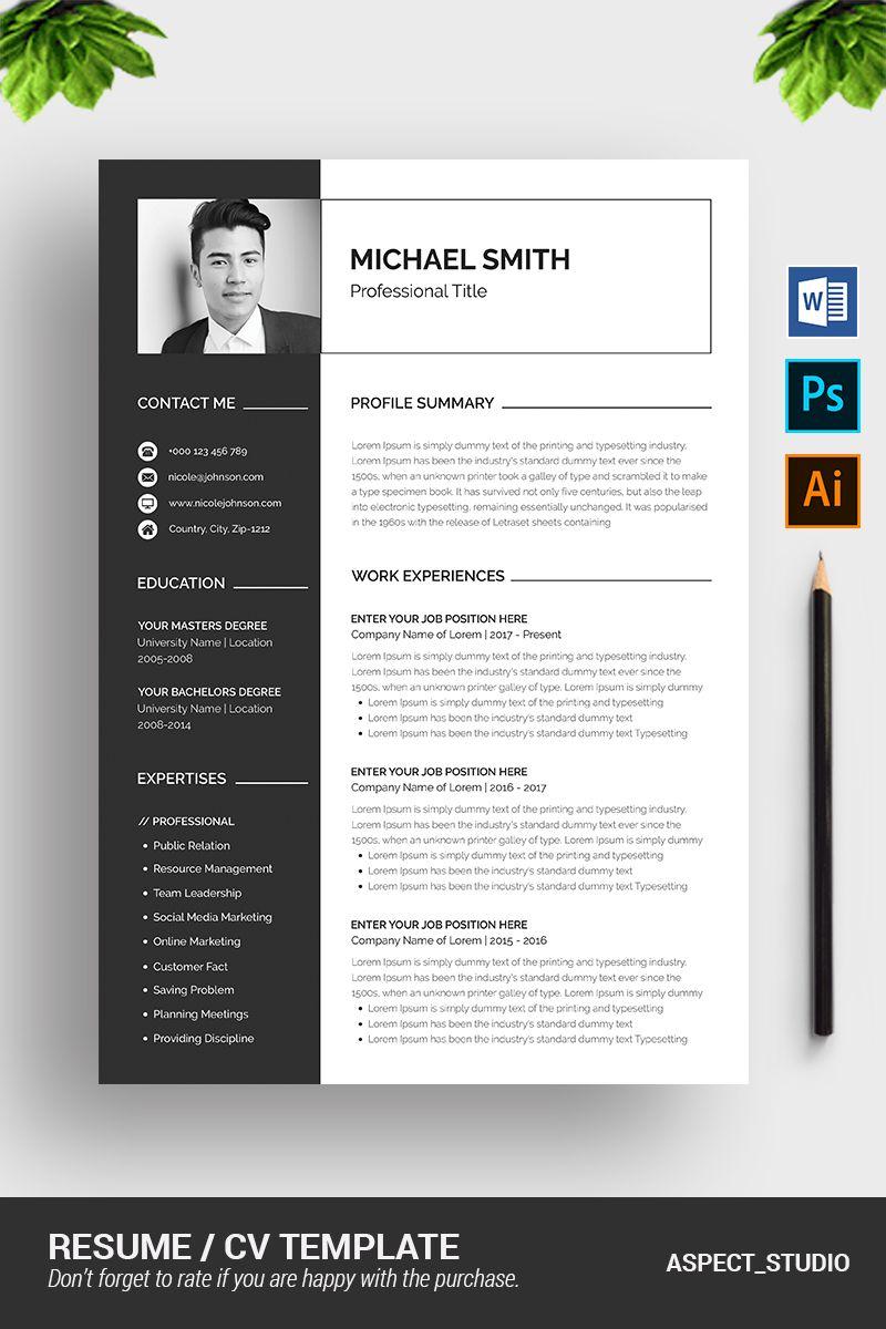 Michael Smith Resume Template 78794 Resume design
