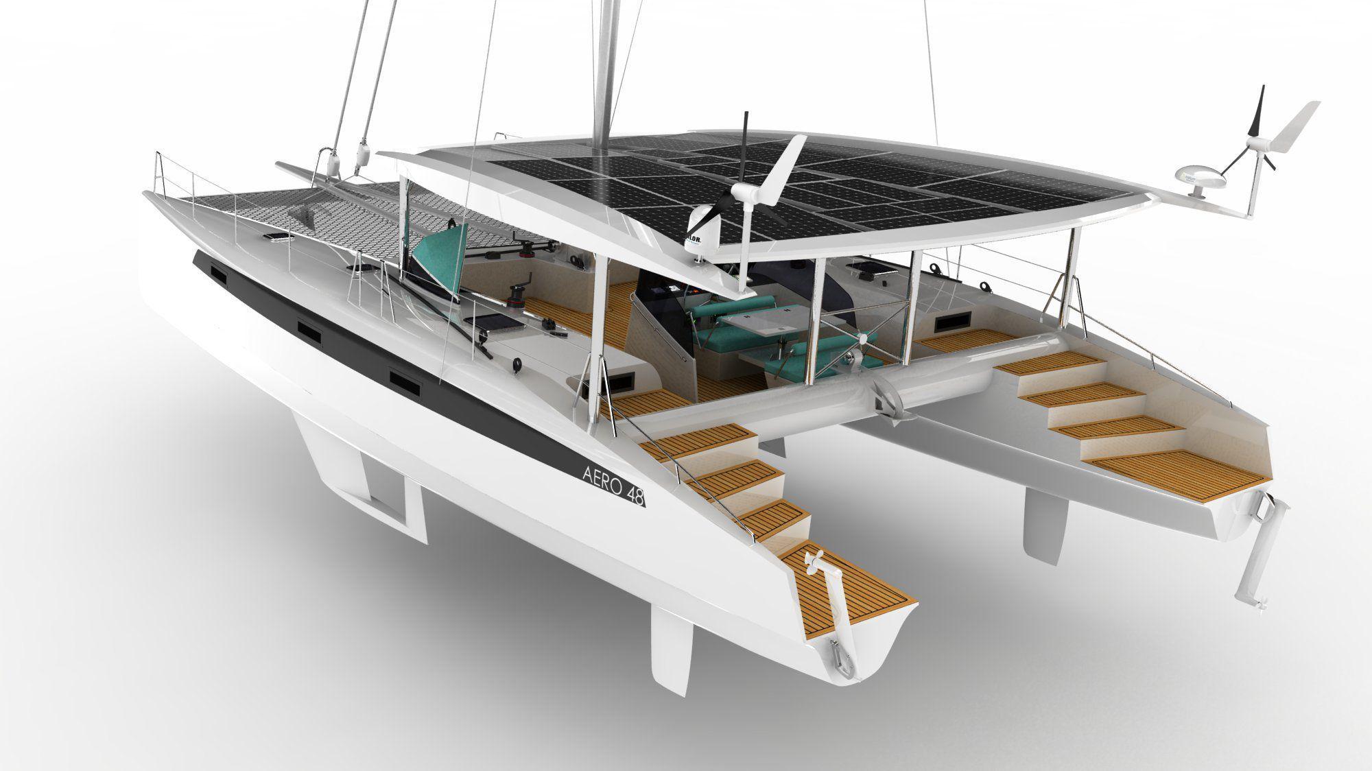 Catamaran Sailboat Designs - Year of Clean Water