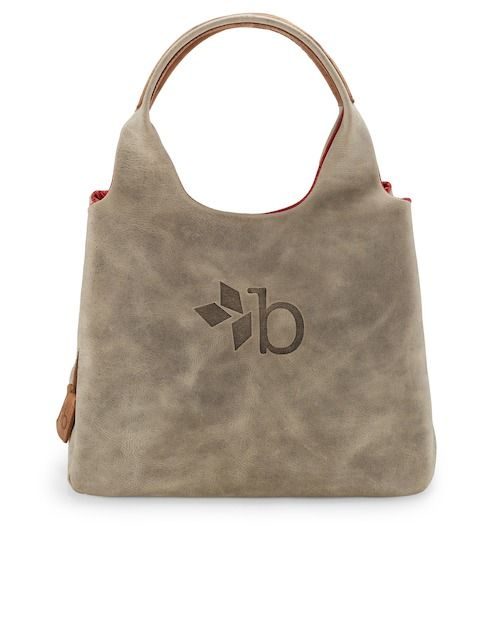 b9ea36cec0833 borgward bagforgood Handtasche daily bag leather - grau Jetzt auf  kleidoo.de bestellen!
