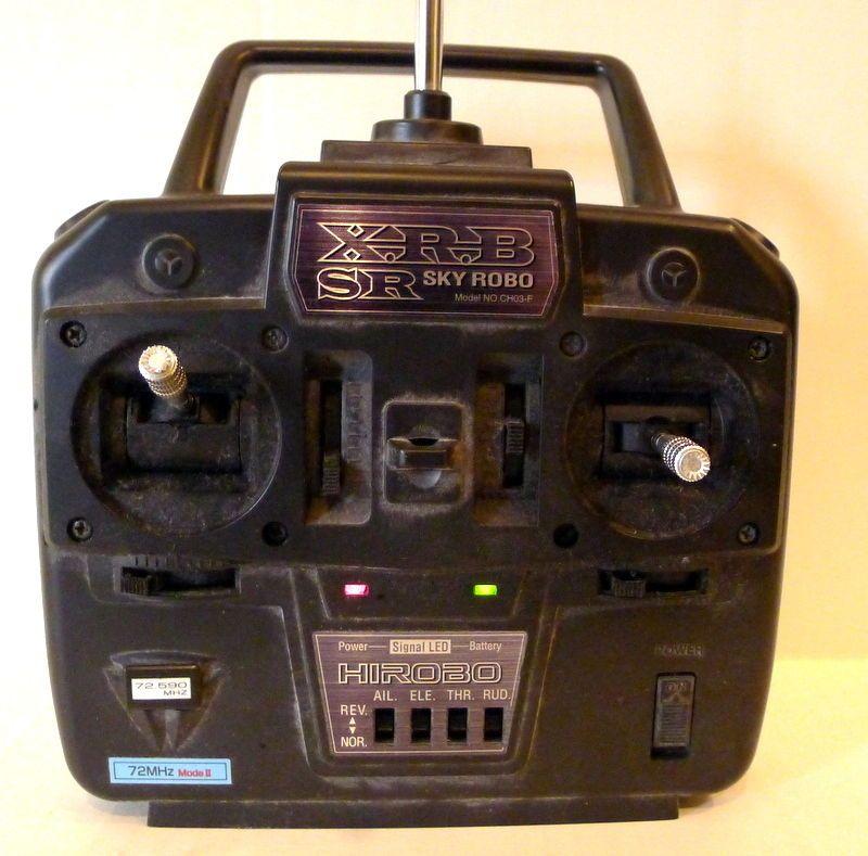 Hirobo  Signal LED Sky Robo XRB Sr lama Indoor Flight Helicopter Remote Control  #HIROBO