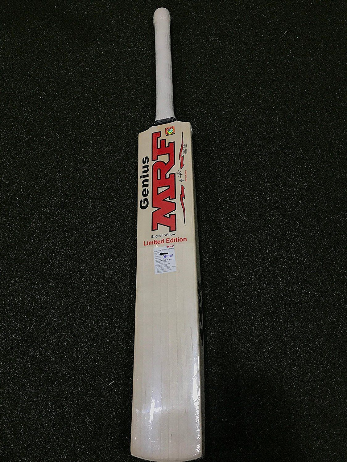 b4d8f4cac58 MRF Genius Limited Edition English Willow Cricket Bat-Short Handle. Find  this Pin and ...