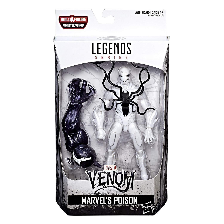 """Marvel Legends 6/"""" Inch Lizard BAF Wave Lasher Symbiote Loose Complete"""