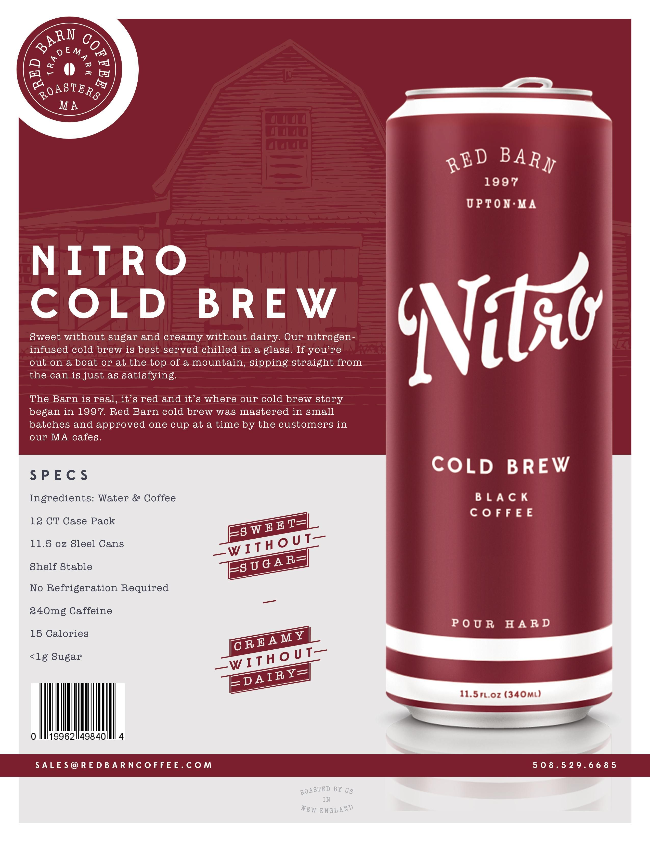 how to make nitro cold brew sweeter