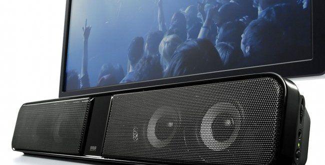 テレビ、パソコンの音声がハッキリと聞こえるサウンドバースピーカー