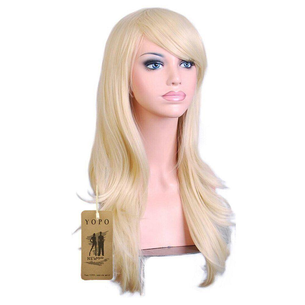 "YOPO 28 "" Long Big Wavy Hair Heat Resistant"