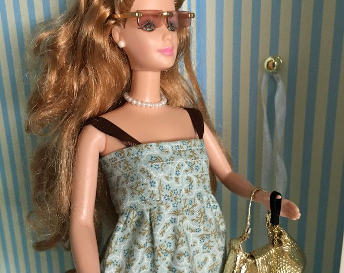 Barbie Wardrobe 7 Piece Set Upcycle Clothes Pottery