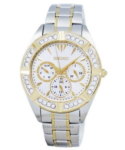 Seiko Lord Quartz Diamond Accent SKY676 SKY676P1 SKY676P Womens Watch 792d8f4d995