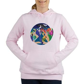 Tropical Creation Women's Hooded Sweatshirt