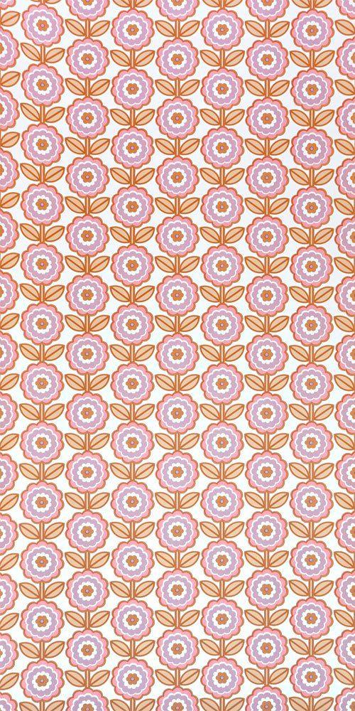 70er Tapete 0911 Vintage Hintergrundbilder Tapeten Retro Muster