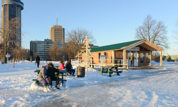 Plains Of Abraham Skating Rink Activities Home The National