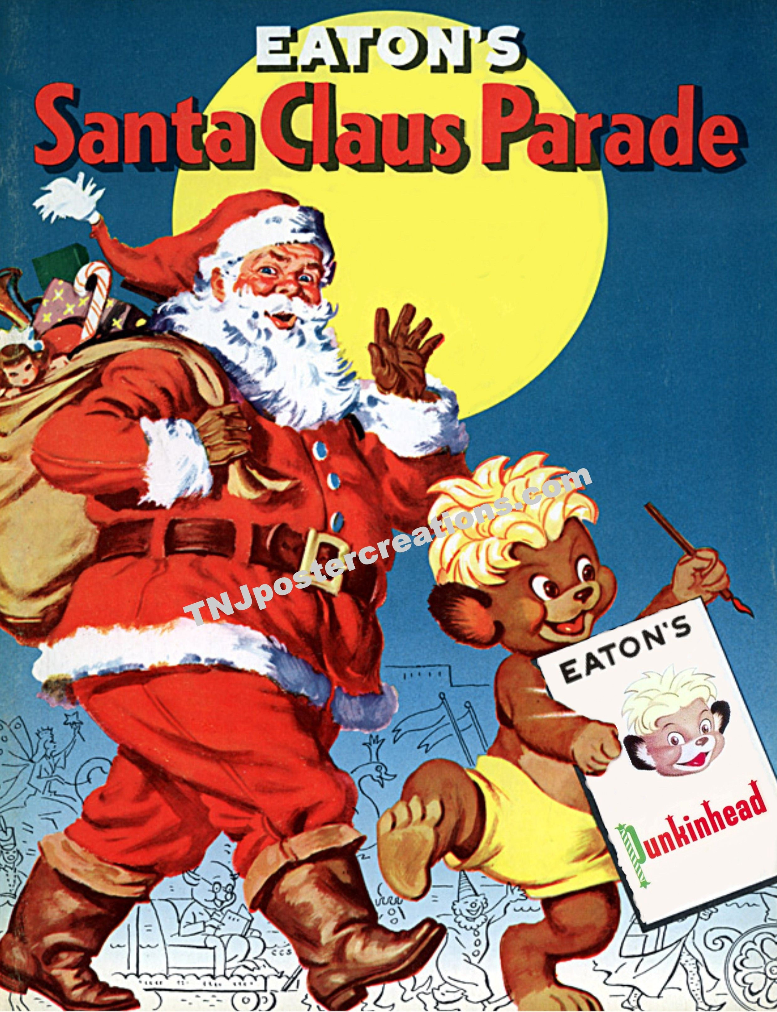 The biggest Christmas parade ever was the Santa Claus