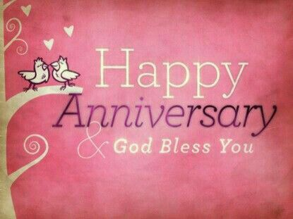 Happy anniversary and god bless you anniversary godbless
