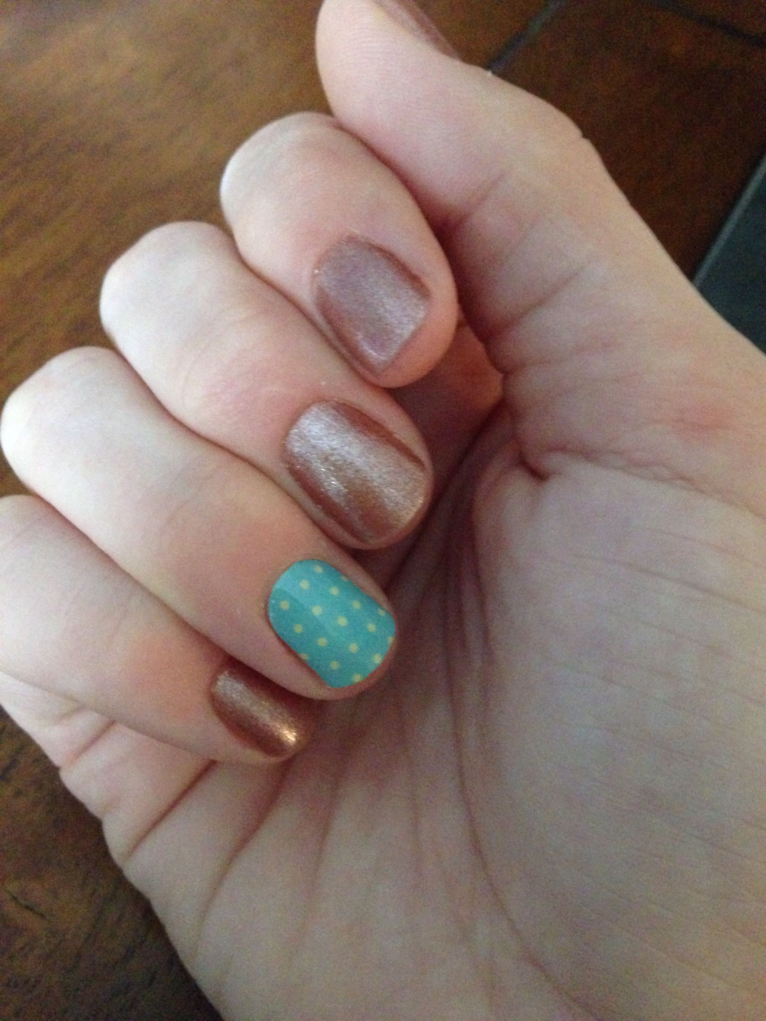 Day two of Jamberry nail, love it!