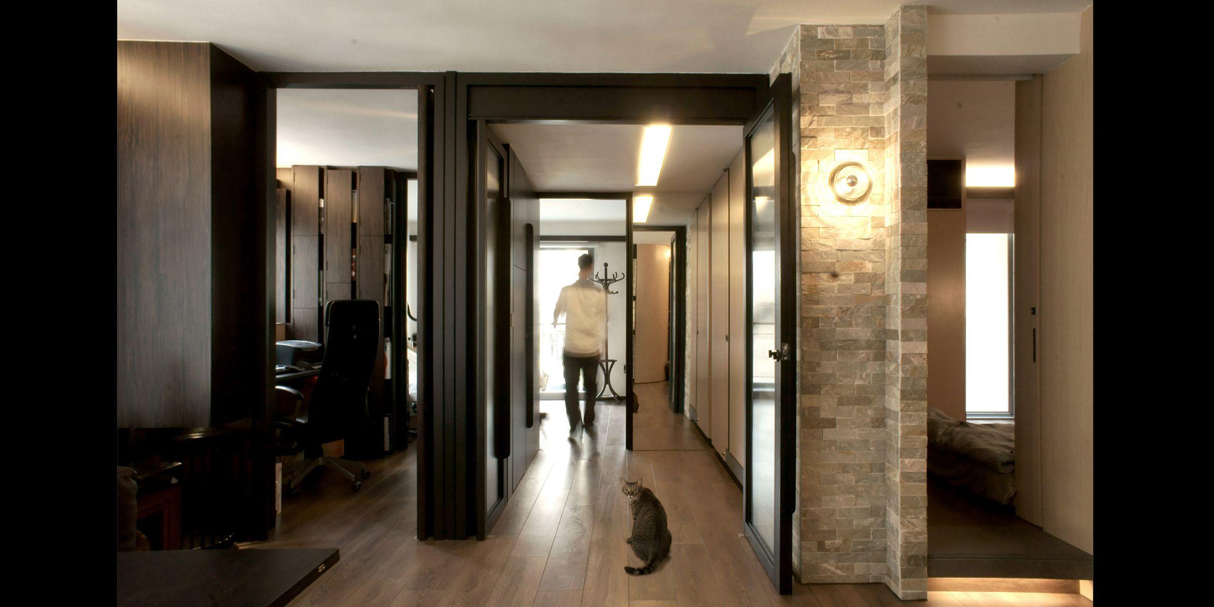 The share apartment u wall studio ltd space pinterest