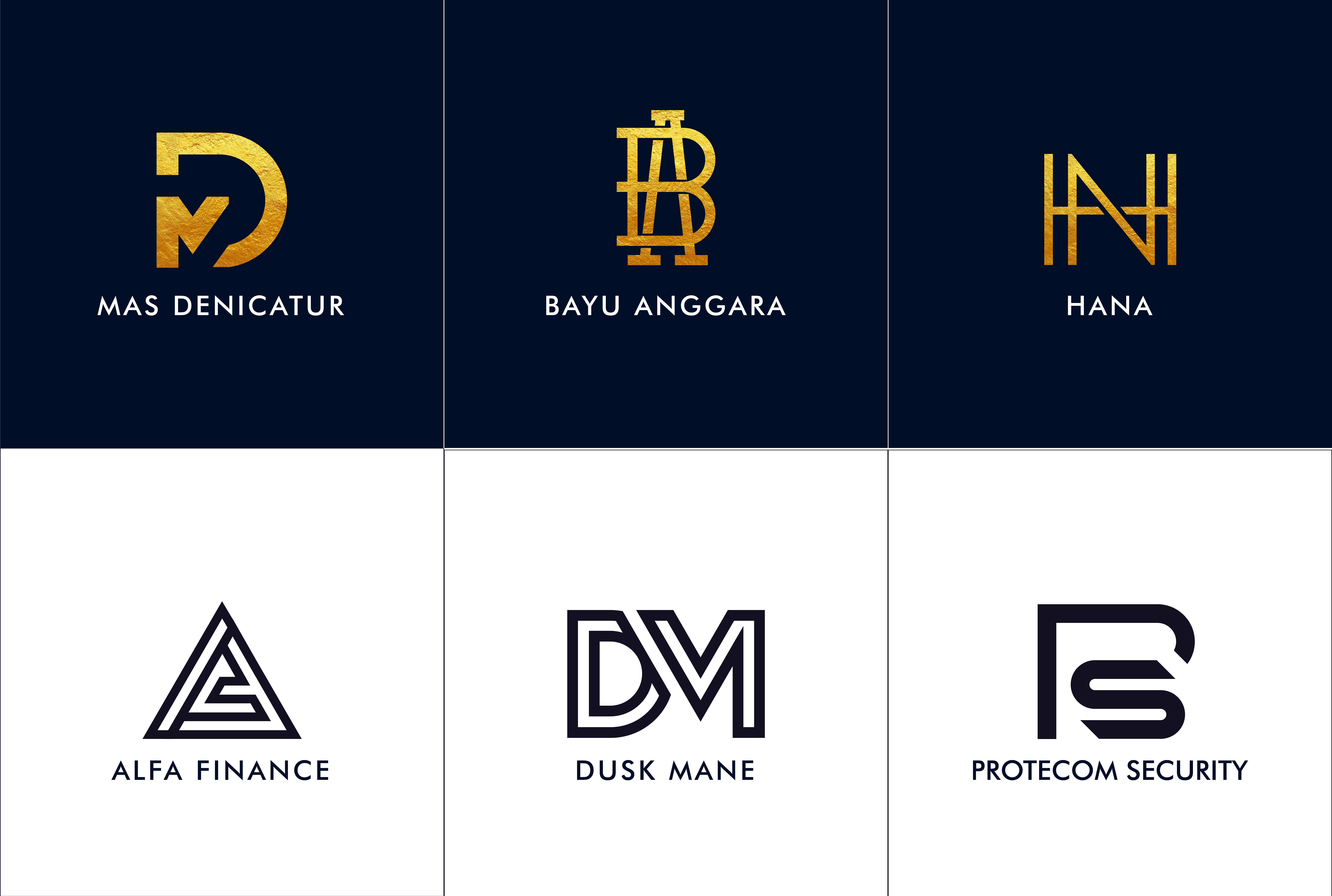 Do 3 Monogram And Initial Logo In 24 Hours