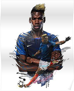'Pogba' Poster by bassdesign