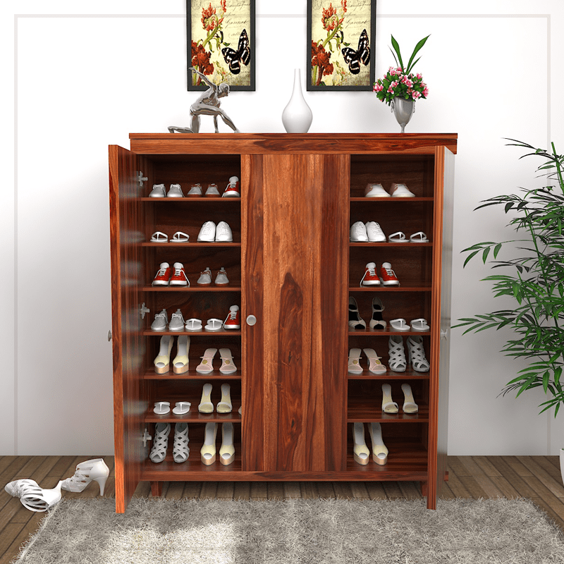 Buy This Admirably Manufactured Ruben Shoe Rack And Give An Organised Environment To Your Home It Is Crafted With H Wooden Rack Wooden Shoe Racks Wooden Diy