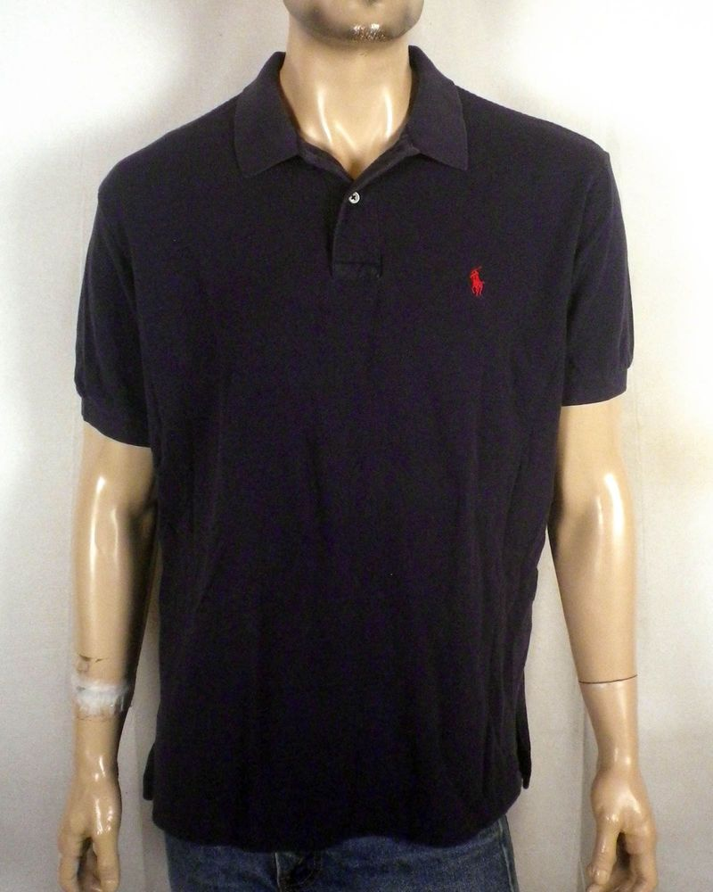 eb89104c222fa Blue And Red Ralph Lauren Polo Shirt