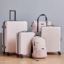 west elm Hardside Spinner Luggage - Black | west elm
