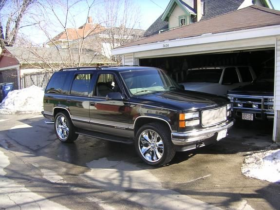 1999 Chevrolet Tahoe 1999 Chevrolet Tahoe Milwaukee Wi