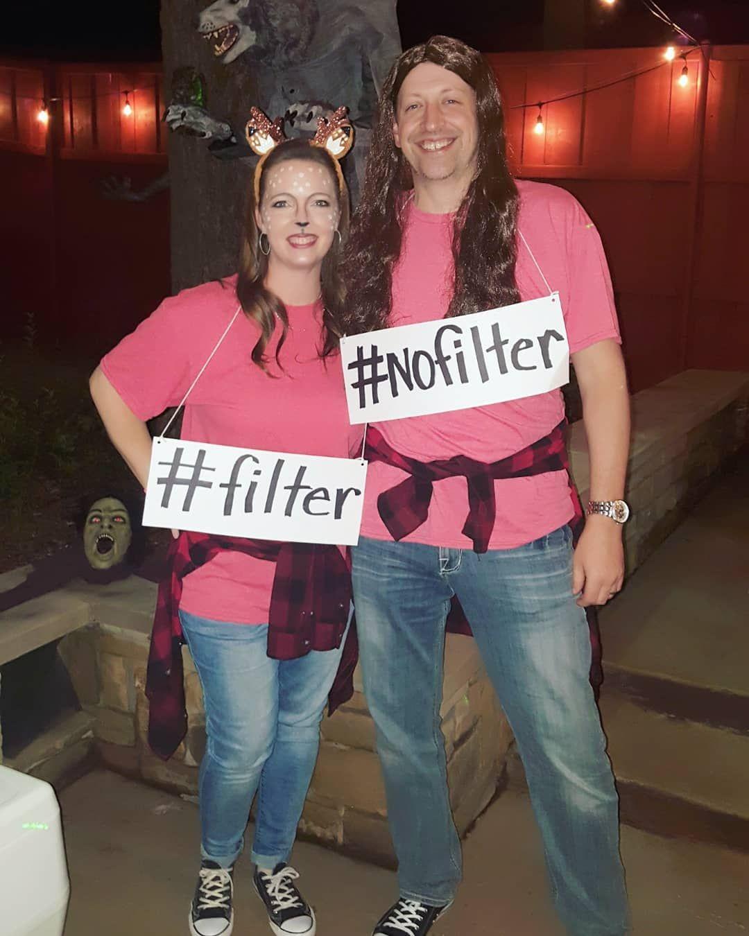Filter no Filter Halloween Costume » Funny DIY Ideas  maskerix