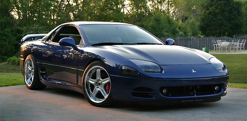 Mitsubishi 3000 Gt Far Superior Cousin Of The Late 80s Early 90s