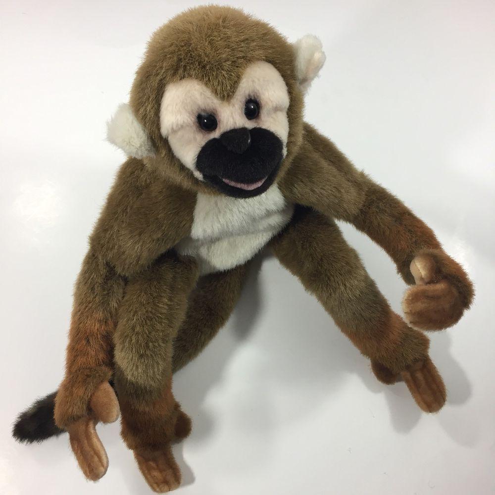Folkmanis Squirrel Monkey Hand Puppet World Of Plush Hand