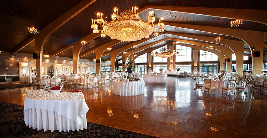 The Harborview Ballroom at Danversport Yacht Club