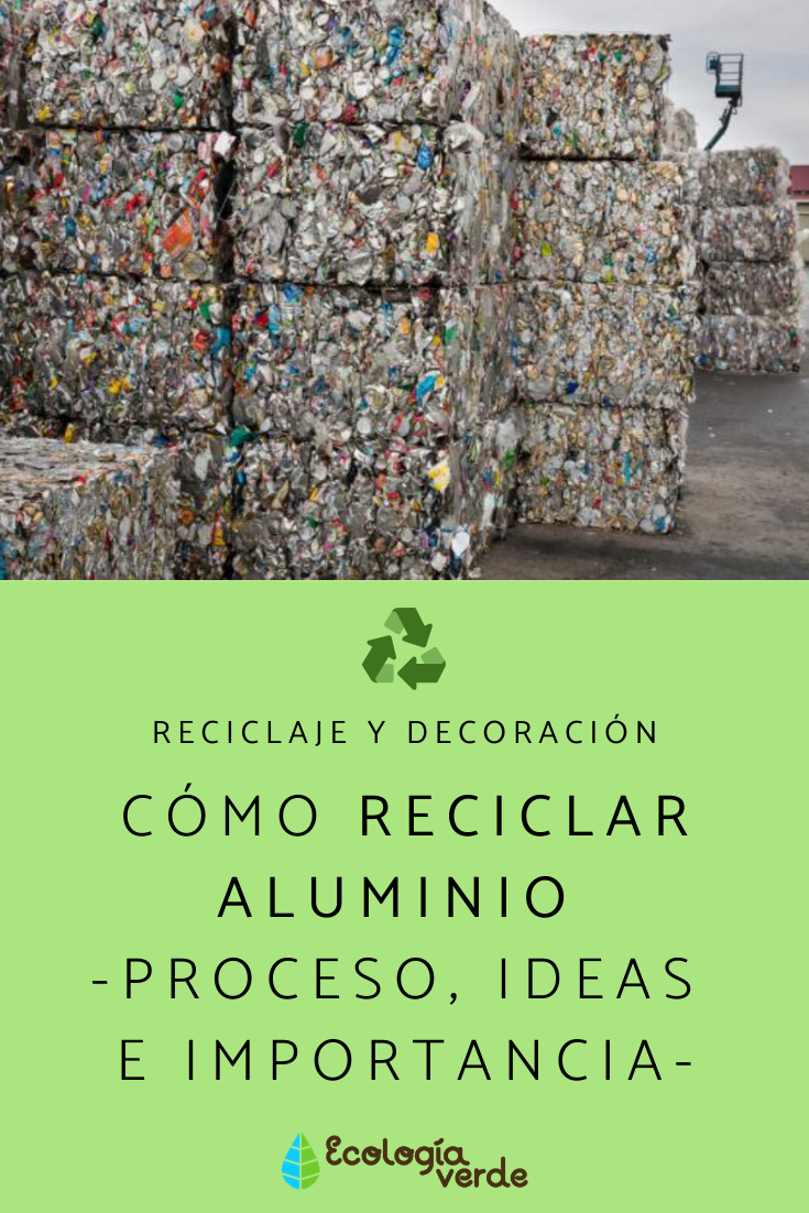 Cómo Reciclar Aluminio Proceso Ideas E Importancia Como Reciclar Reciclar Latas De Aluminio